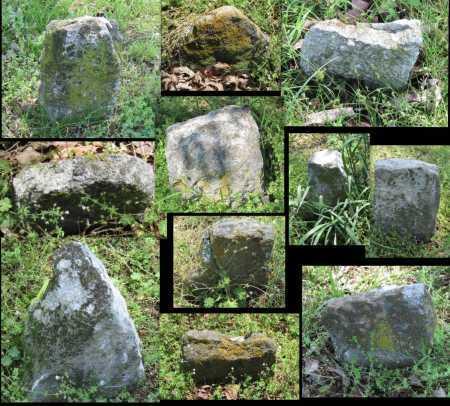 UNKNOWN, UNKNOWN FIELD STONE MARKERS - Benton County, Arkansas | UNKNOWN FIELD STONE MARKERS UNKNOWN - Arkansas Gravestone Photos