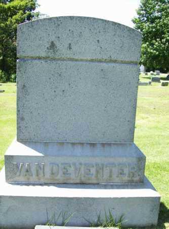 VAN DEVENTER, HEADSTONE - Benton County, Arkansas | HEADSTONE VAN DEVENTER - Arkansas Gravestone Photos