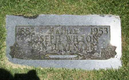 VAN DEVENTER, JOSEPH WILTON - Benton County, Arkansas | JOSEPH WILTON VAN DEVENTER - Arkansas Gravestone Photos