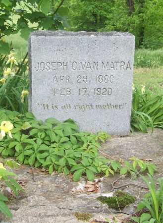 VAN MATRA, JOSEPH C. - Benton County, Arkansas | JOSEPH C. VAN MATRA - Arkansas Gravestone Photos