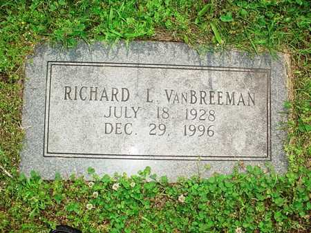 VANBREEMAN, RICHARD L. - Benton County, Arkansas | RICHARD L. VANBREEMAN - Arkansas Gravestone Photos