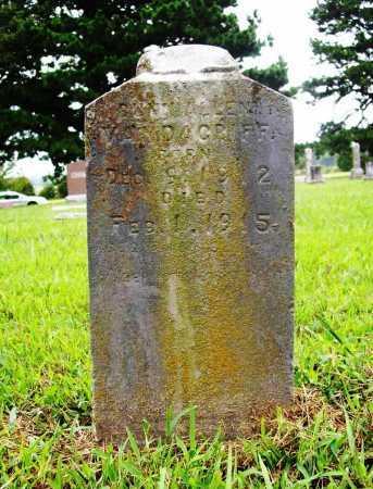 VANDAGRIFF, BUNN ALLEN - Benton County, Arkansas   BUNN ALLEN VANDAGRIFF - Arkansas Gravestone Photos