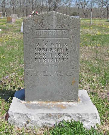 VANDAGRIFF, HUBERT - Benton County, Arkansas | HUBERT VANDAGRIFF - Arkansas Gravestone Photos