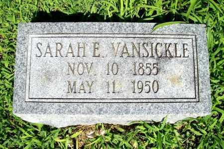 VANSICKLE, SARAH ELIZABETH - Benton County, Arkansas   SARAH ELIZABETH VANSICKLE - Arkansas Gravestone Photos