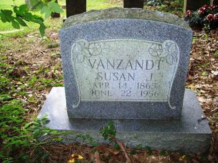 VANZANDT, SUSAN J. - Benton County, Arkansas | SUSAN J. VANZANDT - Arkansas Gravestone Photos