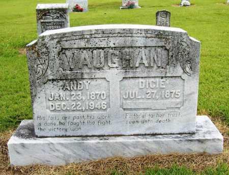 VAUGHAN, DICIE - Benton County, Arkansas   DICIE VAUGHAN - Arkansas Gravestone Photos