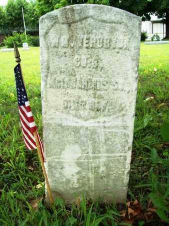 """VERBRYCK (VETERAN UNION), WILLIAM H. """"W. H."""" - Benton County, Arkansas   WILLIAM H. """"W. H."""" VERBRYCK (VETERAN UNION) - Arkansas Gravestone Photos"""