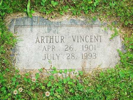 VINCENT, ARTHUR - Benton County, Arkansas | ARTHUR VINCENT - Arkansas Gravestone Photos