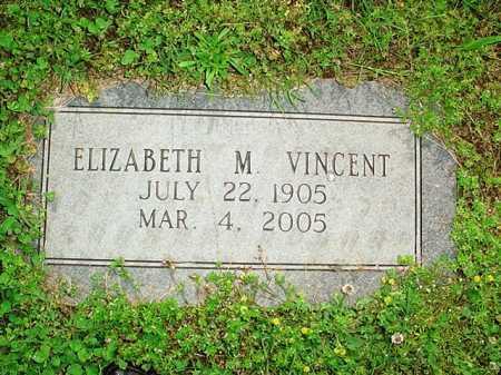 VINCENT, ELIZABETH M. - Benton County, Arkansas | ELIZABETH M. VINCENT - Arkansas Gravestone Photos
