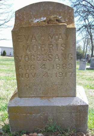 MORRIS VOGELSANG, EVA MAY - Benton County, Arkansas | EVA MAY MORRIS VOGELSANG - Arkansas Gravestone Photos