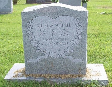 VOSHELL, THERESE MARIE - Benton County, Arkansas   THERESE MARIE VOSHELL - Arkansas Gravestone Photos