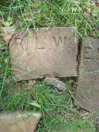 W., R. L. - Benton County, Arkansas   R. L. W. - Arkansas Gravestone Photos