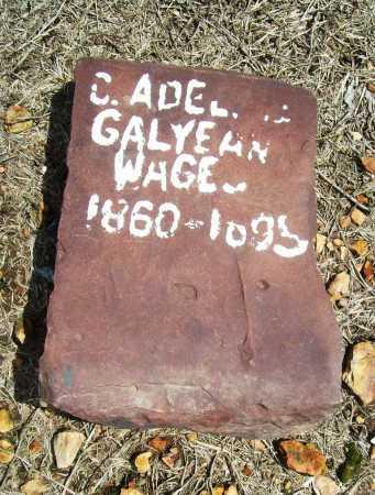 GALYEAN WAGES, C. ADELINE - Benton County, Arkansas | C. ADELINE GALYEAN WAGES - Arkansas Gravestone Photos