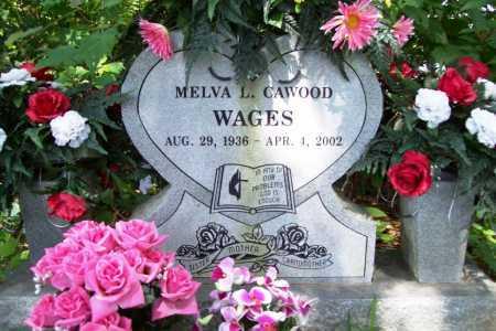 WAGES, MELVA L. - Benton County, Arkansas | MELVA L. WAGES - Arkansas Gravestone Photos