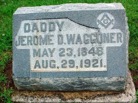 WAGGONER, JEROME D. - Benton County, Arkansas   JEROME D. WAGGONER - Arkansas Gravestone Photos