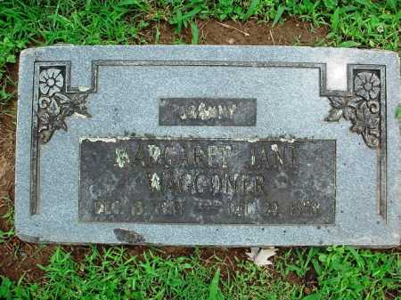 WAGGONER, MARGARET JANE - Benton County, Arkansas | MARGARET JANE WAGGONER - Arkansas Gravestone Photos
