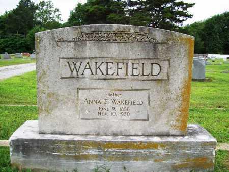 WAKEFIELD, ANNA E - Benton County, Arkansas   ANNA E WAKEFIELD - Arkansas Gravestone Photos
