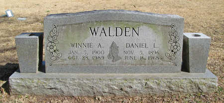 WALDEN, DANIEL L - Benton County, Arkansas | DANIEL L WALDEN - Arkansas Gravestone Photos