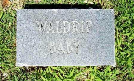 WALDRIP, BABY - Benton County, Arkansas | BABY WALDRIP - Arkansas Gravestone Photos