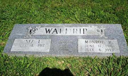 WALDRIP, MONROE R. - Benton County, Arkansas | MONROE R. WALDRIP - Arkansas Gravestone Photos