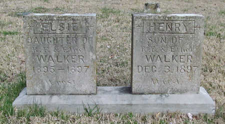 WALKER, HENRY - Benton County, Arkansas | HENRY WALKER - Arkansas Gravestone Photos