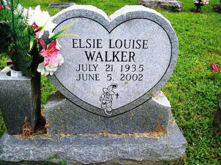 WALKER, ELSIE LOUISE - Benton County, Arkansas | ELSIE LOUISE WALKER - Arkansas Gravestone Photos
