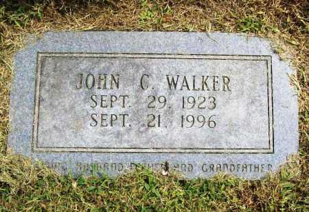 WALKER, JOHN C. - Benton County, Arkansas   JOHN C. WALKER - Arkansas Gravestone Photos