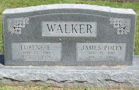 WALKER, LORENE E. - Benton County, Arkansas | LORENE E. WALKER - Arkansas Gravestone Photos