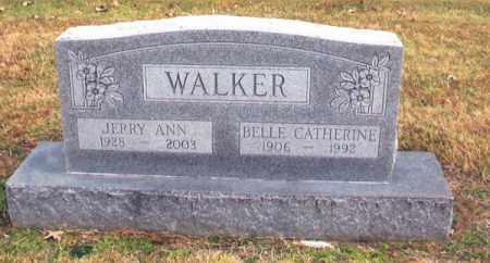 WALKER, JERRY ANN - Benton County, Arkansas   JERRY ANN WALKER - Arkansas Gravestone Photos