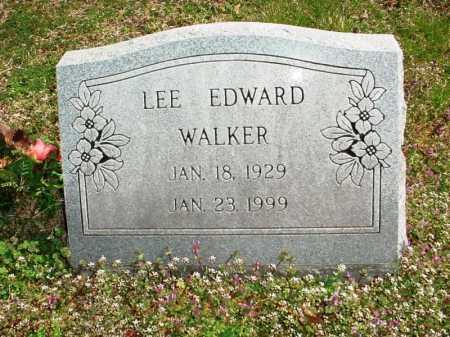 WALKER, LEE EDWARD - Benton County, Arkansas | LEE EDWARD WALKER - Arkansas Gravestone Photos