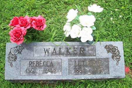 WALKER, REBECCA - Benton County, Arkansas | REBECCA WALKER - Arkansas Gravestone Photos