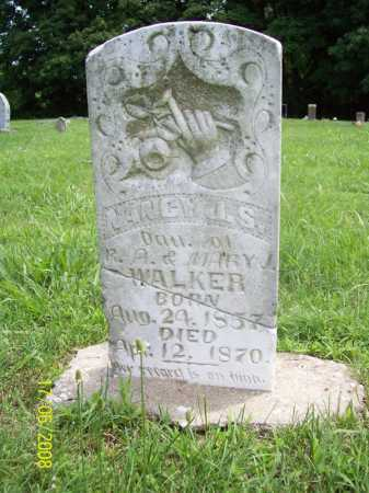 WALKER, NANCY J. S. - Benton County, Arkansas | NANCY J. S. WALKER - Arkansas Gravestone Photos
