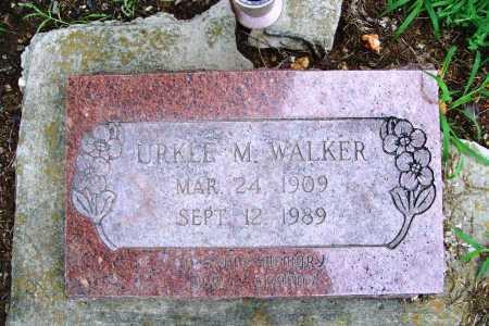 WALKER, URKLE M. - Benton County, Arkansas   URKLE M. WALKER - Arkansas Gravestone Photos