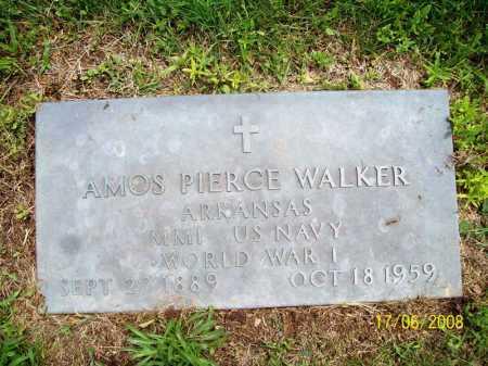 WALKER (VETERAN WWI), AMOS PIERCE - Benton County, Arkansas | AMOS PIERCE WALKER (VETERAN WWI) - Arkansas Gravestone Photos