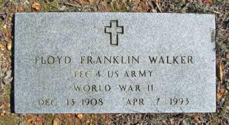 WALKER (VETERAN WWII), FLOYD FRANKLIN - Benton County, Arkansas | FLOYD FRANKLIN WALKER (VETERAN WWII) - Arkansas Gravestone Photos