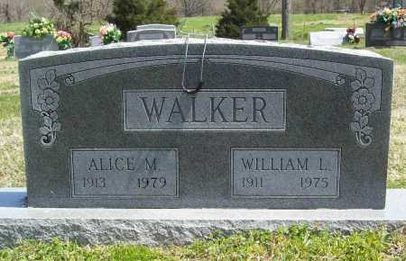 WALKER, WILLIAM L. - Benton County, Arkansas | WILLIAM L. WALKER - Arkansas Gravestone Photos