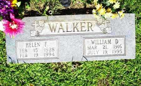 WALKER, HELEN F. - Benton County, Arkansas | HELEN F. WALKER - Arkansas Gravestone Photos