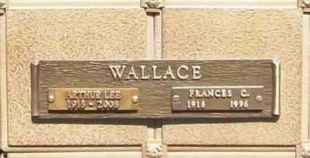 WALLACE, ARTHUR LEE - Benton County, Arkansas | ARTHUR LEE WALLACE - Arkansas Gravestone Photos