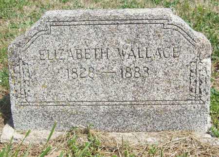 WALLACE, ELIZABETH - Benton County, Arkansas   ELIZABETH WALLACE - Arkansas Gravestone Photos