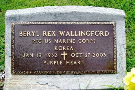 WALLINGFORD (VETERAN KOR), BERYL REX - Benton County, Arkansas | BERYL REX WALLINGFORD (VETERAN KOR) - Arkansas Gravestone Photos