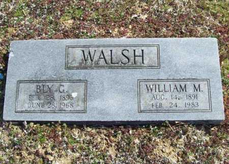 WALSH, BLY G. - Benton County, Arkansas | BLY G. WALSH - Arkansas Gravestone Photos