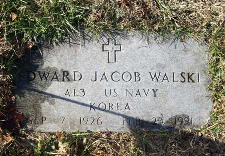 WALSKI (VETERAN KOR), EDWARD JACOB - Benton County, Arkansas | EDWARD JACOB WALSKI (VETERAN KOR) - Arkansas Gravestone Photos