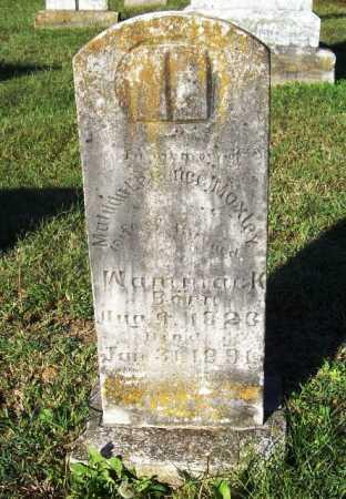MOXLEY WAMMACK, MATILDA LEE - Benton County, Arkansas | MATILDA LEE MOXLEY WAMMACK - Arkansas Gravestone Photos