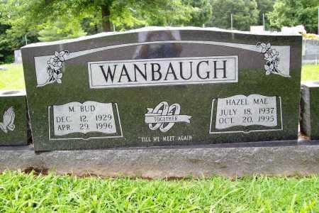 "WANBAUGH, M. ""BUD"" - Benton County, Arkansas | M. ""BUD"" WANBAUGH - Arkansas Gravestone Photos"