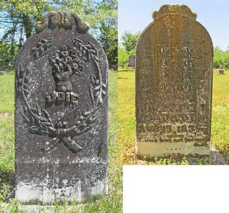 WANN, JOIE W - Benton County, Arkansas | JOIE W WANN - Arkansas Gravestone Photos
