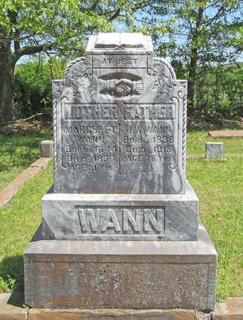WANN, MARGERET - Benton County, Arkansas   MARGERET WANN - Arkansas Gravestone Photos