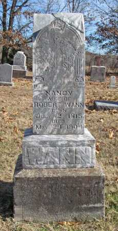 WANN, NANCY - Benton County, Arkansas | NANCY WANN - Arkansas Gravestone Photos