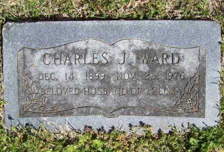 WARD, CHARLES JOSEPH - Benton County, Arkansas   CHARLES JOSEPH WARD - Arkansas Gravestone Photos