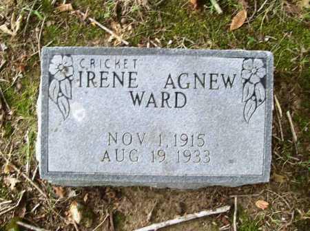 """WARD, IRENE """"CRICKET"""" - Benton County, Arkansas   IRENE """"CRICKET"""" WARD - Arkansas Gravestone Photos"""