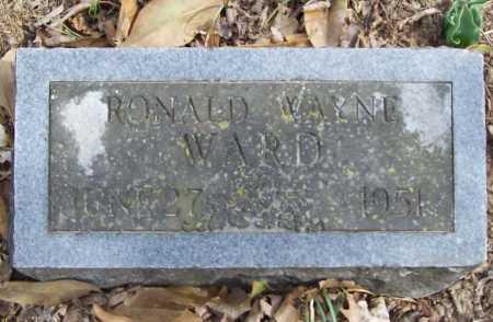 WARD, RONALD WAYNE - Benton County, Arkansas   RONALD WAYNE WARD - Arkansas Gravestone Photos